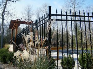 Metal fences and ornamental iron fences by Total Fence