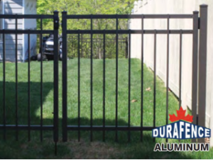Durafence Aluminum fence by Total Fence