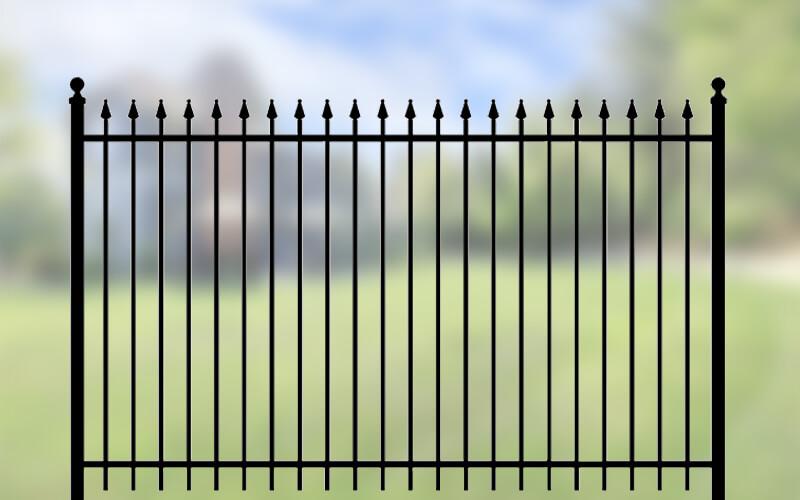 Iron Eagle Ornamental Fence - Total Fence