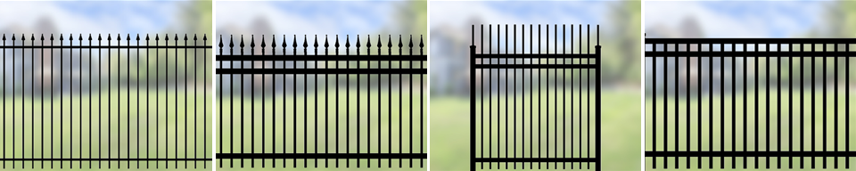 Iron Eagle Commercial Ornamental Fence - Total Fence