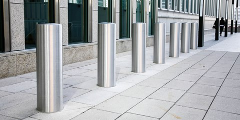 Shallow Bollards - Total Fence